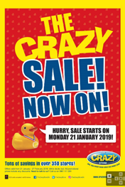 The Crazy Store Sale