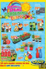 The Crazy Store Gardening Specials