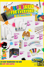 Find Specials || The Crazy Store arts & crafts specials