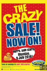 Find Specials || The Crazy Store crazy sale