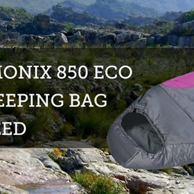 K-Way Charmonix 850 - A great Sleeping Bag
