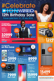 Find Specials || Dion Wired Birthday Deals