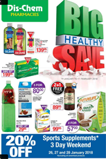 Find Specials || Dischem Healthy Save Catalogue