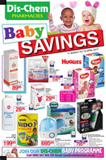 Find Specials || Dischem Ultimate Baby Savings