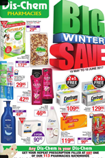 Find Specials || Dischem Winter Specials