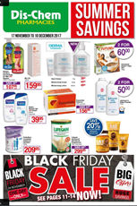 Find Specials || Dischem Black Friday Sale