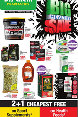 Find Specials || Dis-Chem Big Healthy Sale