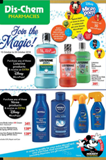 Find Specials || Dis Chem Disney Deals
