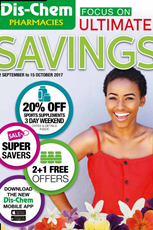 Find Specials || Dischem Savings Catalogue