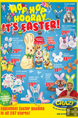 Find Specials || The Crazy Store Easter Sale