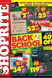 Find Specials || Shoprite Back to Shool - KZN
