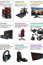 Evetech Gaming Laptop and Computer Specials