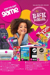 Find Specials || Game - Back To School