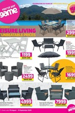 Find Specials || Game Outdoor Furniture Special Catalogue