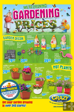 Find Specials || Crazy Store Gardening Deals
