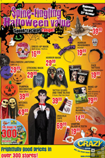 Find Specials || The Crazy Store Halloween Specials