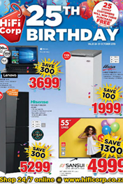 Find Specials || HiFi Corp 25th Birthday Sale
