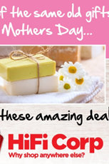 Find Specials || HiFi Corp Mothers Day gIfts