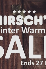 Find Specials || Hirsch's Winter Warmer Sale