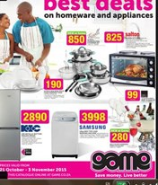 Compare prices of Appliances specials & promotions near you from all SA's major retailers. Add alerts and get email notifications.