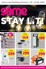 Find Specials || Game Load Shedding Specials