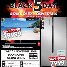 Black Friday Deals Revealed