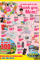 Find Specials || The Crazy Store Mothers Day Deals