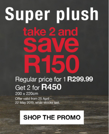 Mr Price Home Blankets 06 May 2019 13 May 2019 2020 Specials Catalogues