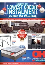 Find Specials || OK Furniture Festive Deals 2018