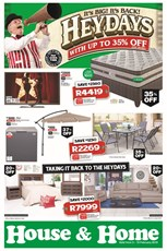 Find Specials || House and Home Heydays Specials