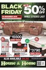 Find Specials || House and Home Black Friday 2019