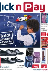 Find Specials || Pick n Pay Back To School Deals