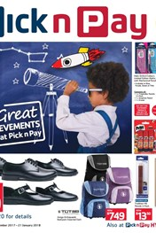 Find Specials || Pick n Pay Back To School Great Savings