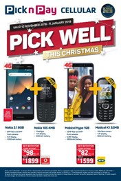 Find Specials || Pick n Pay Festive Cellular Deals