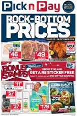 Find Specials || Eastern Cape PnP Rock Bottom Prices