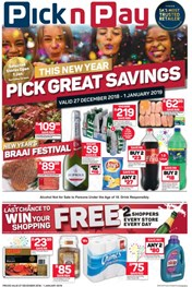 Find Specials || Eastern Cape Pick n Pay New Years Specials
