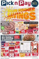Find Specials || Eastern Cape PnP Sizzling Summer Savings