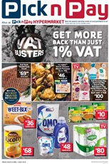 Find Specials || EC Pick n Pay VAT Busters Deals