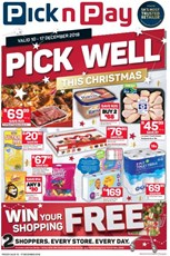 Find Specials || Eastern Cape Pick n Pay Christmas Specials