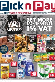 Find Specials || Inland Pick n Pay VAT Buster Deals