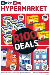 Find Specials || Inland Pick n Pay Hypermarket R100 Deals