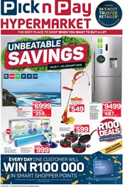 Find Specials || Pick n Pay Hypermarket Unbeatable Savings