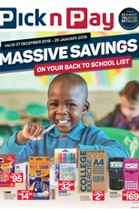 Find Specials || Inland Pick n Pay Back To School Deals