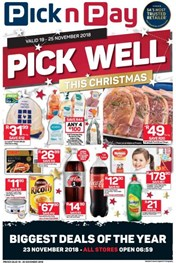 Find Specials || KZN Pick n Pay Pick Well Christmas Specials