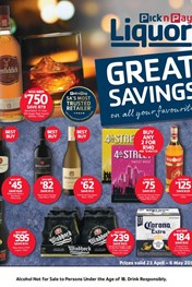 Find Specials || Pick n Pay Liquor Specials