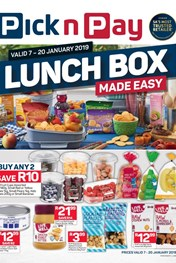 Find Specials || Eastern Cape Pick n Pay Lunch Box Made Easy