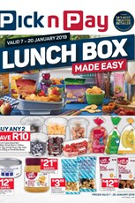 Find Specials || Inland Pick n Pay Lunch Box Made Easy