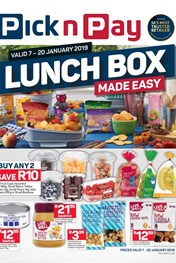 Find Specials || Western Cape Pick n Pay Lunch Box Made Easy