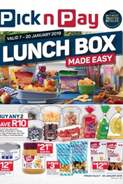 Find Specials || KZN Pick n Pay Lunch Box Made Easy