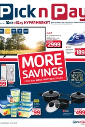 Find Specials || Pick n Pay More Savings